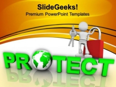 Protect Globe Environment PowerPoint Templates And PowerPoint Themes 0812