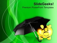 Protect Your Saving Business And Investment PowerPoint Templates Ppt Backgrounds For Slides 0413