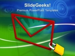 Protection Of Electronic Information PowerPoint Templates Ppt Backgrounds For Slides 0413