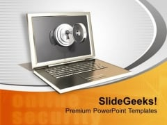Protection Of Information Technology PowerPoint Templates Ppt Backgrounds For Slides 0213