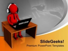 Providing Service Is Important For Sales PowerPoint Templates Ppt Backgrounds For Slides 0713