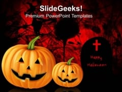 horror powerpoint template