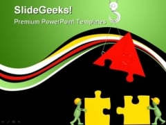 Puppets Building Home Construction PowerPoint Themes And PowerPoint Slides 0411
