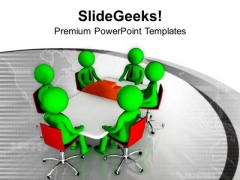 Put Issuses Forward In Business Meeting PowerPoint Templates Ppt Backgrounds For Slides 0713