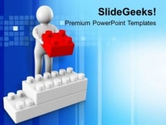 Put On Right Place PowerPoint Templates Ppt Backgrounds For Slides 0613