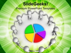 Put Result For Business Team PowerPoint Templates Ppt Backgrounds For Slides 0713