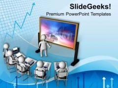 Put The Business Result Forward PowerPoint Templates Ppt Backgrounds For Slides 0713