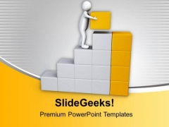 Put Your Best To Reach On Top PowerPoint Templates Ppt Backgrounds For Slides 0813