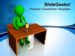 Put Your Voice Forward PowerPoint Templates Ppt Backgrounds For Slides 0713