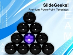 Put Yourself Forward In Team PowerPoint Templates Ppt Backgrounds For Slides 0613
