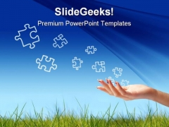 Puzzle Game PowerPoint Templates And PowerPoint Backgrounds 0711
