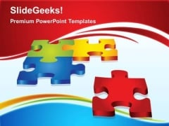 Puzzle Solution Business PowerPoint Templates And PowerPoint Themes 0212