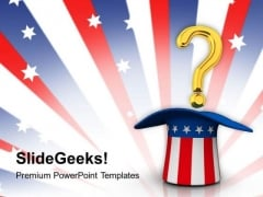 Query On American Problem PowerPoint Templates Ppt Backgrounds For Slides 0813
