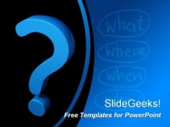 Questionnaire PowerPoint Template
