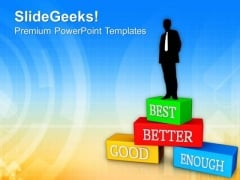 Reach On First Place In Business PowerPoint Templates Ppt Backgrounds For Slides 0613