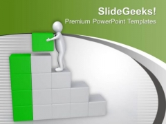 Reach On The Final Place In Business PowerPoint Templates Ppt Backgrounds For Slides 0513