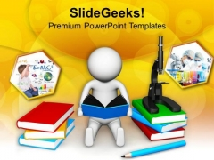 Read All Your Subject Books PowerPoint Templates Ppt Backgrounds For Slides 0813