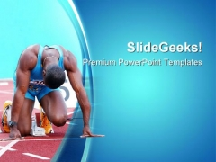 Ready To Go Sports PowerPoint Themes And PowerPoint Slides 0811