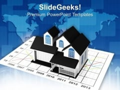 Real Estate Market Concept PowerPoint Templates And PowerPoint Themes 0912