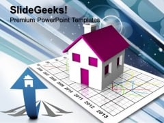 Real Estate Market Growth PowerPoint Templates And PowerPoint Themes 0912