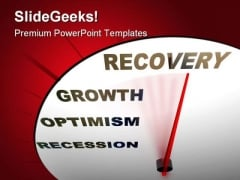 Recession Recovery Growth Business PowerPoint Templates And PowerPoint Backgrounds 0811
