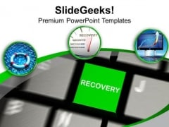 Recovery Is Necessary For Business Growth PowerPoint Templates Ppt Backgrounds For Slides 0413