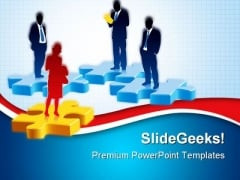 Recruitment For Job Competition PowerPoint Themes And PowerPoint Slides 0511