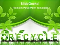 Recycle Environment PowerPoint Templates And PowerPoint Themes 0212