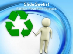 Recycling Can Save World PowerPoint Templates Ppt Backgrounds For Slides 0713