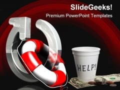 Refresh Help Security PowerPoint Backgrounds And Templates 0111