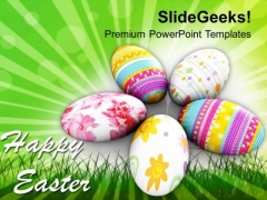Religious Festivals Of Christians Easter Day PowerPoint Templates Ppt Backgrounds For Slides 0313