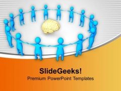 Revolve Around The New Business Ideas PowerPoint Templates Ppt Backgrounds For Slides 0713