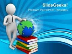 Right To Education For Global World PowerPoint Templates Ppt Backgrounds For Slides 0713