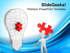 Right Way To Find The Solution Business Concept PowerPoint Templates Ppt Backgrounds For Slides 0513