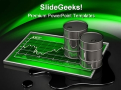 Rising Oil Prices Industrial PowerPoint Themes And PowerPoint Slides 0211