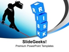 Risk Cubes Business PowerPoint Templates And PowerPoint Themes 1112