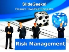 Risk Management People PowerPoint Backgrounds And Templates 1210