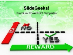 Risk Vs Reward Matrix Targets PowerPoint Templates And PowerPoint Themes 0612
