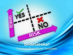 Risk Vs Reward Target Arrows Business PowerPoint Templates And PowerPoint Themes 0712