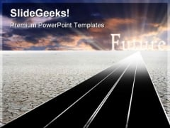 Road To Future Travel PowerPoint Templates And PowerPoint Backgrounds 0711