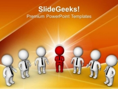 Role Of Team Leader In Team Management PowerPoint Templates Ppt Backgrounds For Slides 0513