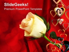 Roses Symbol Of Love Relationship PowerPoint Templates Ppt Backgrounds For Slides 0513