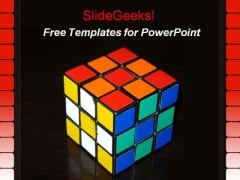 Rubik Cube PPT Template