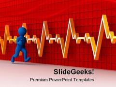 Running Man Business PowerPoint Template 1110