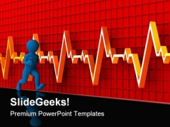 Running Men Health PowerPoint Templates And PowerPoint Backgrounds 0511