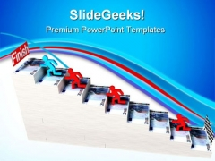 Running Men Success PowerPoint Themes And PowerPoint Slides 0811