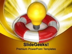 Safety Light Technology PowerPoint Templates And PowerPoint Themes 0912