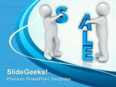 Sale Is Very Important For Shoppers PowerPoint Templates Ppt Backgrounds For Slides 0613
