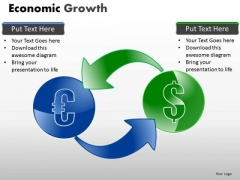 Sales Diagram Economic Growth Business Diagram