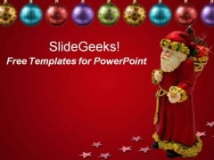 Christmas Santa PowerPoint Template